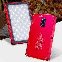 Mini Phone LED Light OLED Screen 96 Beads Magnetic Aluminum Alloy Portable Lamp for Selfie ND998
