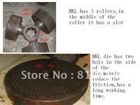 MKL395 pellet machine/pellet press/pellet mill spare parts roller and die