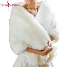 0aac906c32c18 Offre spéciale 2017 pas cher mode mariage veste mariée enveloppes hiver  robe de mariée enveloppes boléro mariée manteau accessoi.