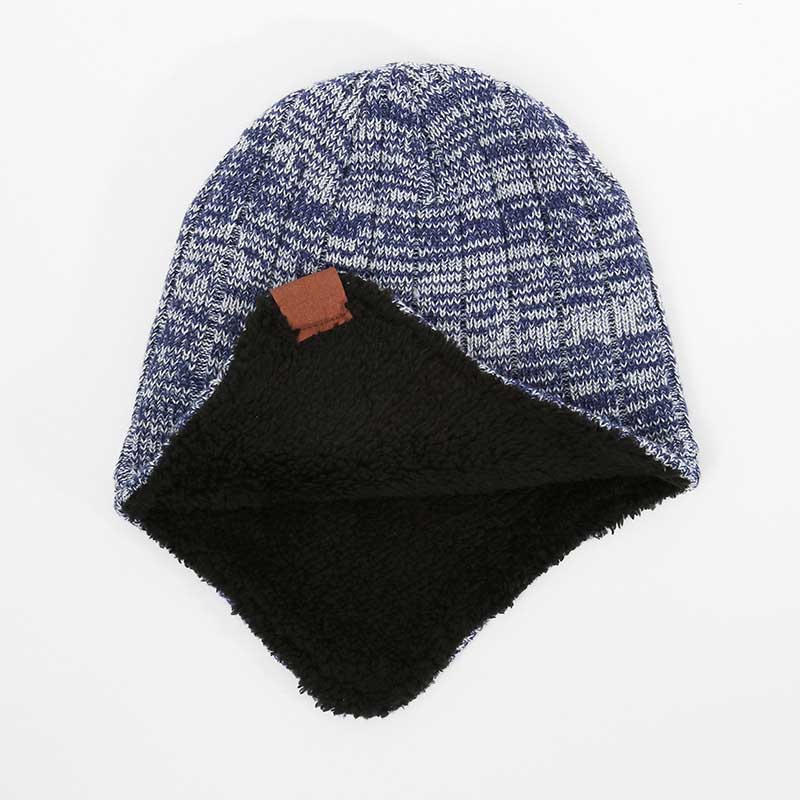 c2d04e11795 2018 New Men Women Winter Hats Scarves Gloves Cotton Knitted Hat Scarf Set  For Male Female Winter Accessories 3 Pieces Hat Scarf-in Scarf