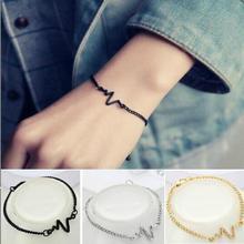 Kvinnor armband ecg armband stetoskop hjärtslagarmband för kvinnor män sjuksköterska läkare armband pulseira feminin pulseira