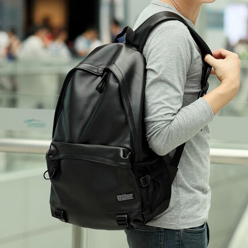 Aliexpress.com : Buy 15 Inch Men Backpack Youth Waterproof Black ...