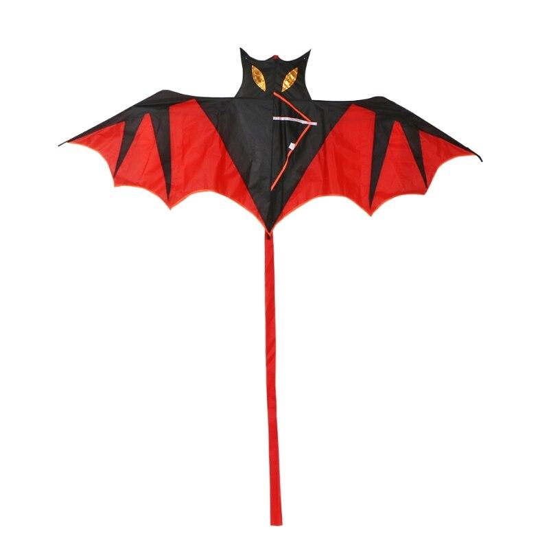 Toys & Hobbies Cool Bat Kite Outdoor Kites Flying Toys Kite For Children Kids We Have Won Praise From Customers