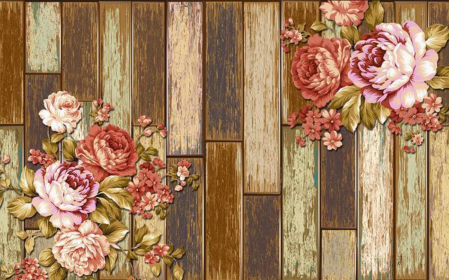 Custom 3d mural wall paper three dimensional large mural for Antique mural wallpaper