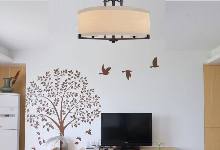 Ceiling Fixtures Scandinavian Minimalist Living Room Bedroom - Bedroom ceiling light covers