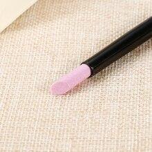 New  1 Pcs Nail Art Quartz Scrubs Stone Cuticle Remover Stick Pen Spoon Cut Pusher Polish Manicure Pedicure Care Tools