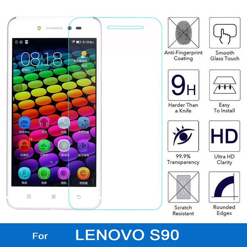 For lenovo s90 Tempered Glass 9H 2.5D HD Clear Screen Protector Film for lenovo sisley s90 s 90 s90t s90a s90u s90-a s90 a