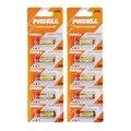 2 pacote 10 Pcs 1 12 V 27A 12 V MN27 GP27A A27 L828 bateria seca alcalina