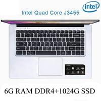 intel celeron P2-07 6G RAM 1024G SSD Intel Celeron J3455 מקלדת מחשב נייד מחשב נייד גיימינג ו OS שפה זמינה עבור לבחור (1)