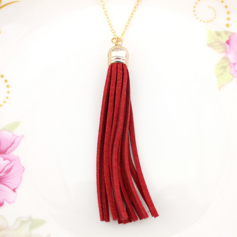 ZWPON más nuevo caliente venta de moda bohemia rojo y azul y - Bisutería - foto 5