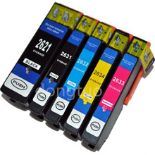 5 x compatible Ink Cartridge for T Premium XP-510 XP-610 XP-615 XP-810 Printer inkjet T2621 t2601 26 26XL Europe
