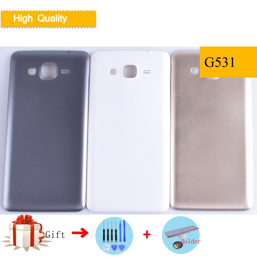 10pcs Lot Battery Back Cover For Samsung Galaxy Grand Prime G530 Baterai G530h G530f G531 G531h G531f Rear Housing Door Replacement In Mobile Phone Housings From