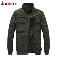 JOOBOX Military Jacket Men Winter Cotton Jacket Coat Army Men's Pilot Jacket Air Force Autumn Casual Cargo Jaqueta Drop Shipping