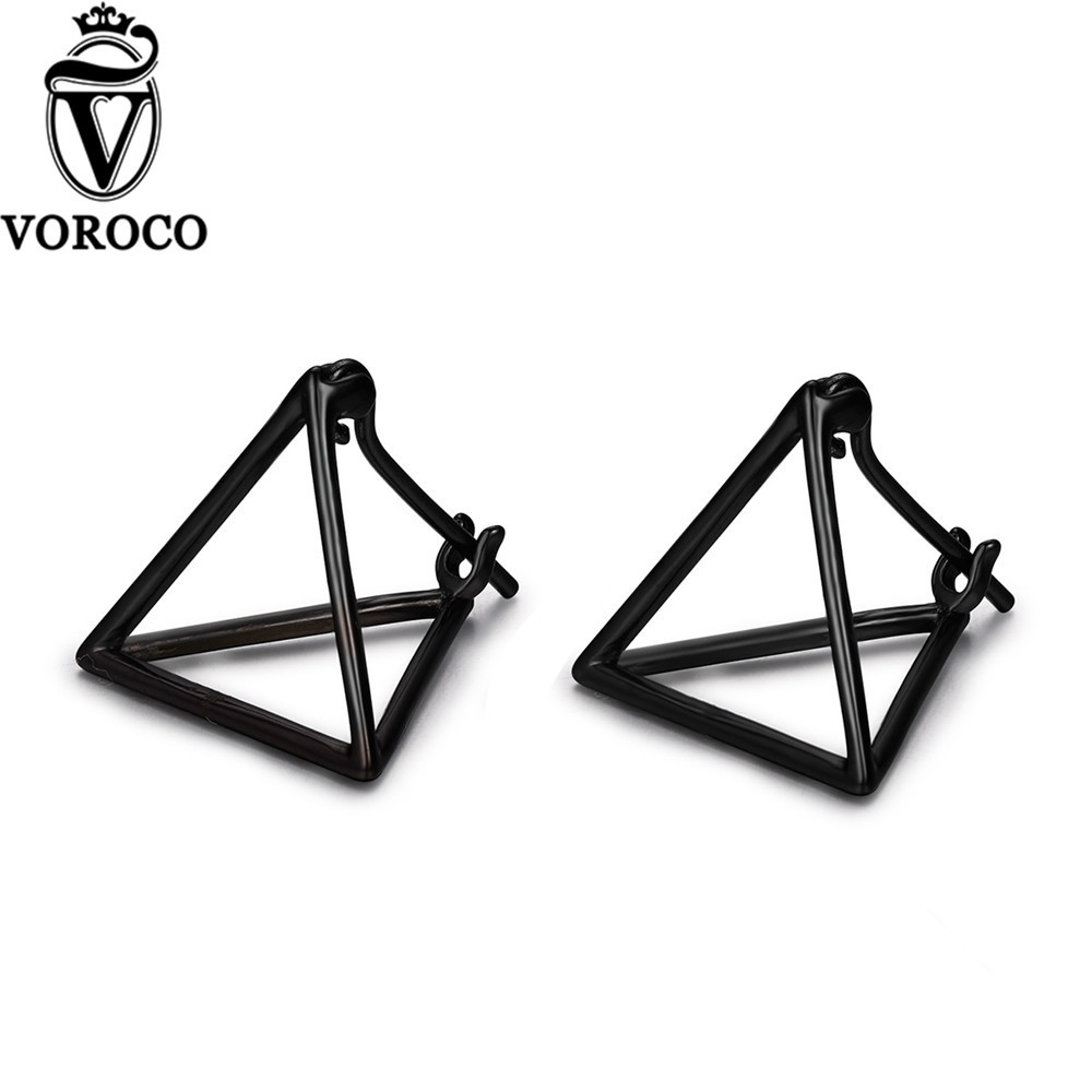 VOROCO 2017 Genuine 925 Sterling Silver Simple Minimalist ...