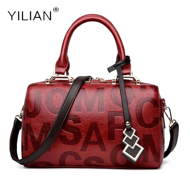 YILIAN Brand Women Shoulder bags leather women tote bags female luxury messenger handbags ladies fashion Crossbody handbag bag стоимость