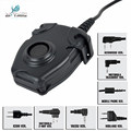 Waterproof PTT Cable For Kenwood/ICOM/Midland Plug for Z Tactical Comtac II H50 SORDIN H60HD01 Noise Reduction Headset Z 112