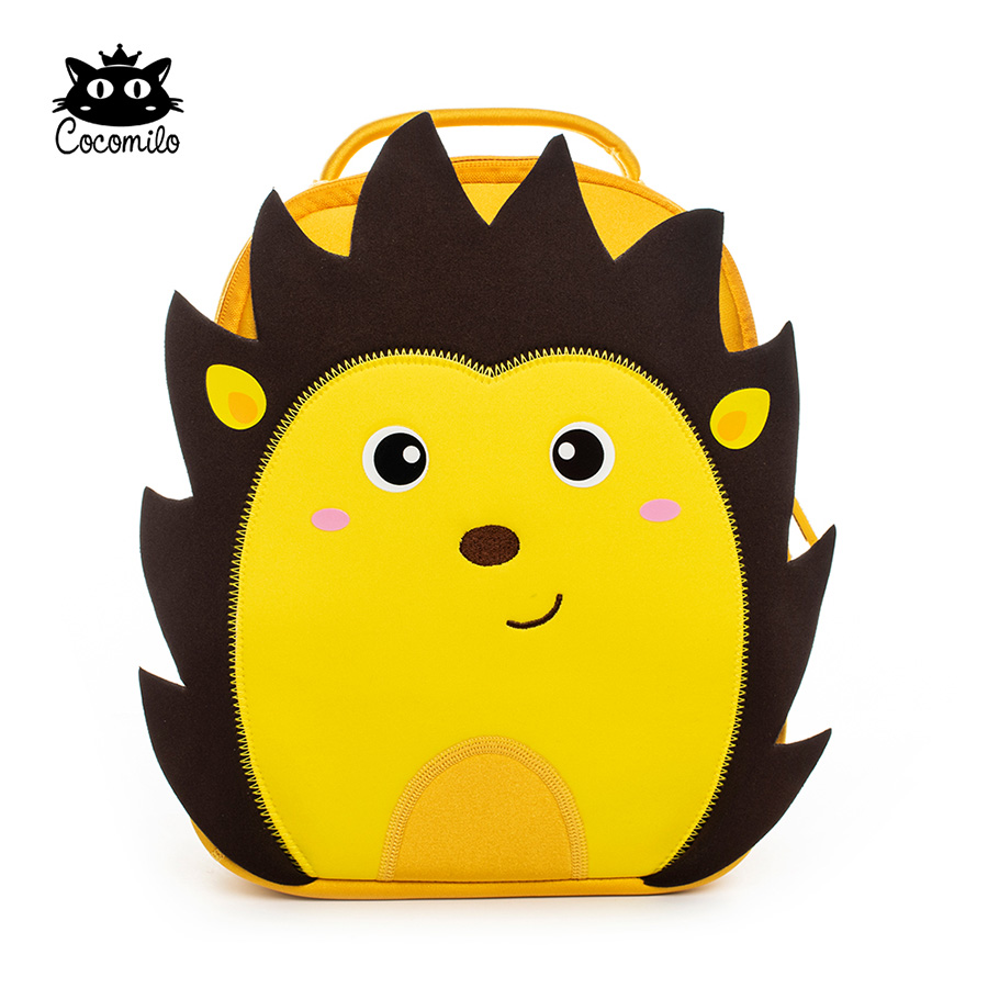 Cartoon 3D Hedgehog Kindergarten Zoo Animal Little Kids Small School Bag Light Lion Backpack 3-6 Years Girls Boys Toddler Bag zoo animal sweetheart backpack toddler pouch non woven string shoe shourlder school bag for boy and girls birthday party gift