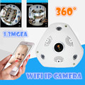V380 3D VR Camera 360 Degree Panoramic IP Camera 960P 1.3MP WIreless Wi-fi Camera IP SD Card Slot Multi Viewing Mode