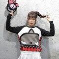 Корейский Мультфильм Осень зима характер Pattern Женщины Футболка милые Женщины Одежда Флис Плюс Размер WWC09