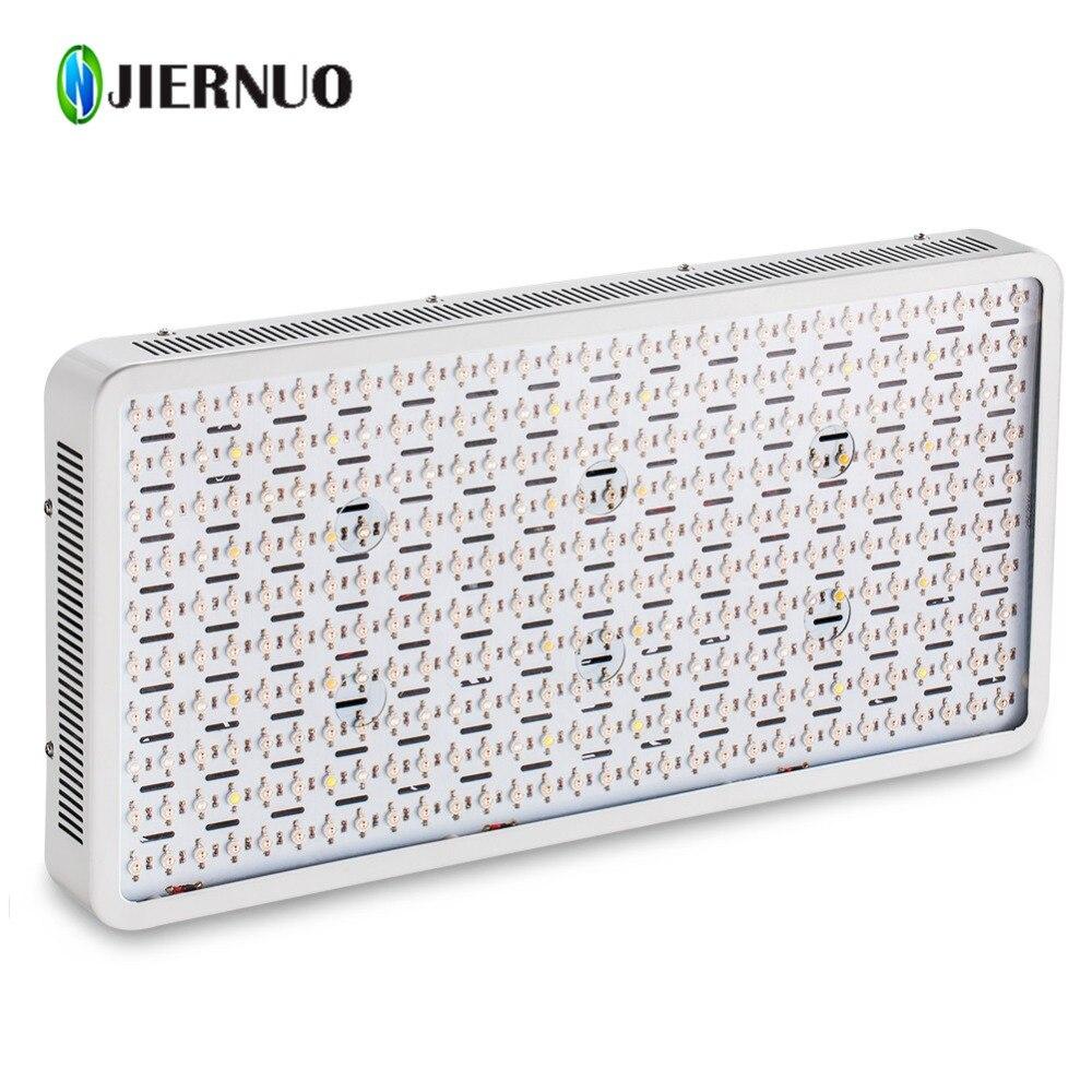 JIERNUO alta potencia 3000 W LED crecer luz espectro completo llevado crece la lámpara doble chips planta de luz de crecimiento para interior cultivo de plantas