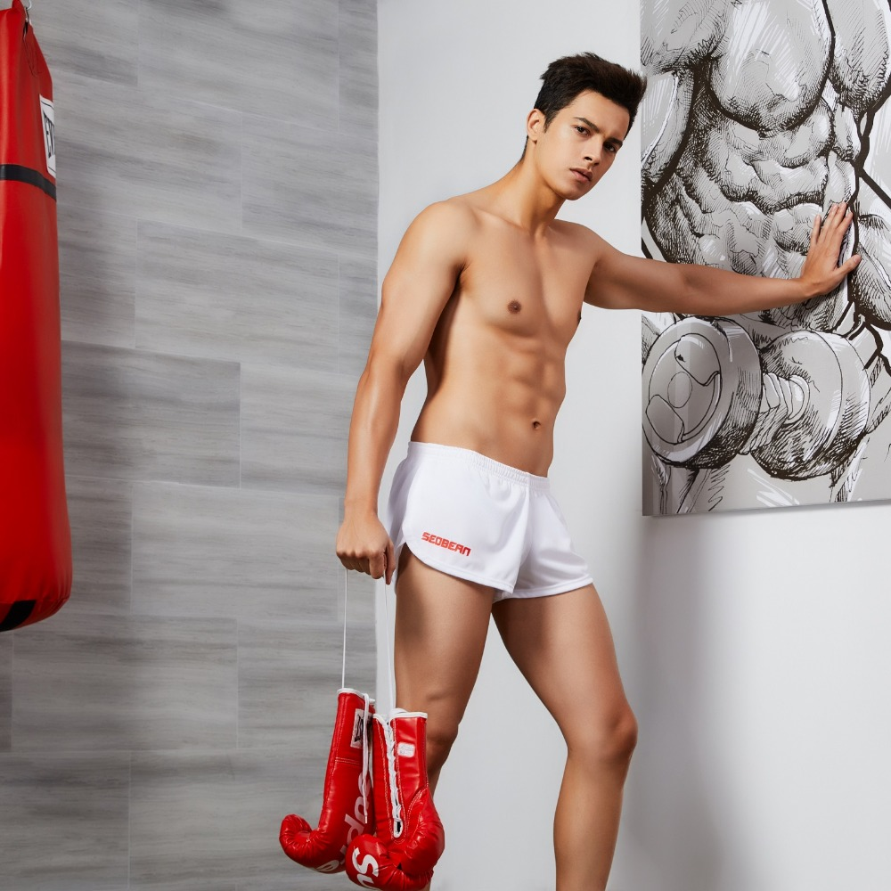 SEOBEAN Mens cotton shorts brand new Home Comfort breathe freely boxer shorts