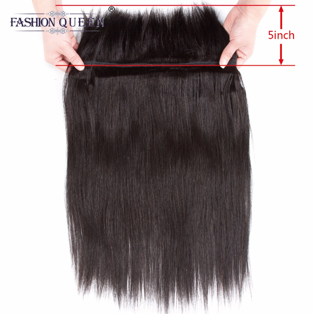 Fashion Queen Hair Braid in Bundles 7A Peruvian Straight Human Hair 3 Bundles 120g/Pc Br ...