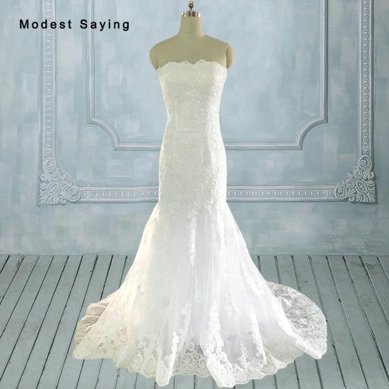 Elegant Mermaid Queen Anne Lace Applique Wedding Dresses 2017 with Jacket Bolero Long Ivory Bridal Gowns vestido de novia JW78