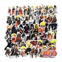 TD ZW  63Pcs/lot Japan Anime Naruto Stickers Decal For Snowboard Laptop Luggage Car Fridge Car- Styling Sticker Pegatina 75pcs waterproof sailor moon stickers decal for for snowboard laptop luggage car fridge car styling sticker pegatina