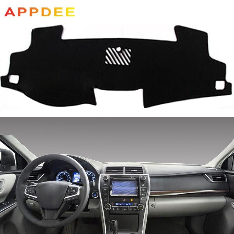 CAR Dashboard Dash Mat Non-Slip Sun Cover Pad For Toyota Camry 2014~2017