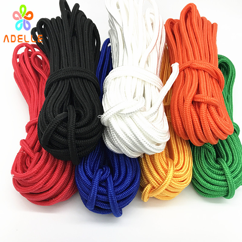 6mm Braided Polypropylene Poly Rope Cord Boat Yacht Sailing Climbing