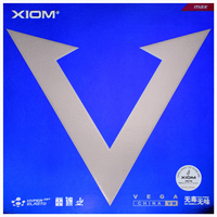 XIOM Table Tennis Rubber VEGA Blue China VM Fast break Loop pimples in with sponge ping pong tenis de mesa