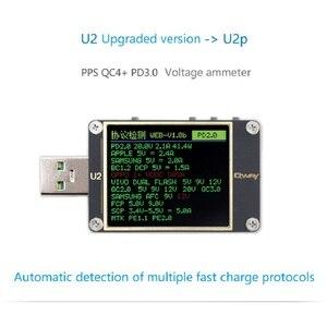 Image 1 - Qway U2p التيار والجهد متر USB تستر QC4 + PD3.0 2.0PPS سرعة تهمة بروتوكول السعة