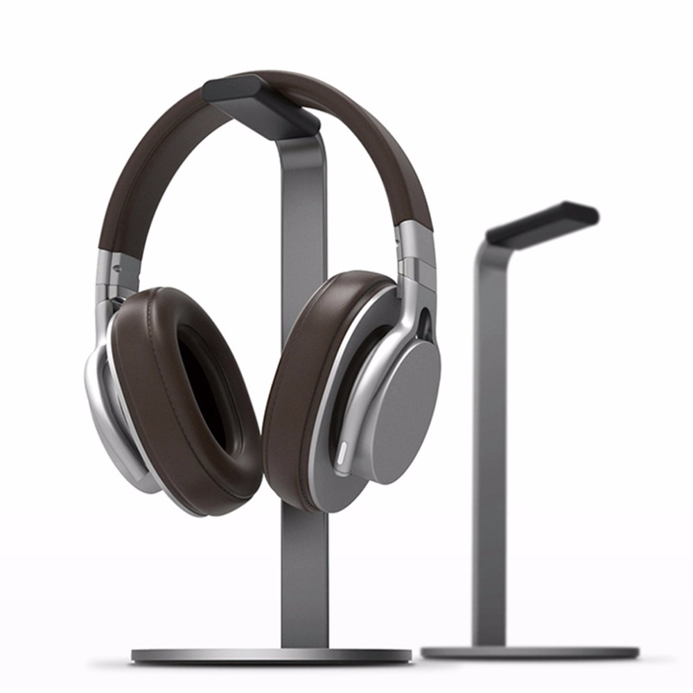 New Headphone Stand High Ended Aluminum Alloy Portable H Stand Display Rack Holder For Earphones Gaming Headphones Accessories
