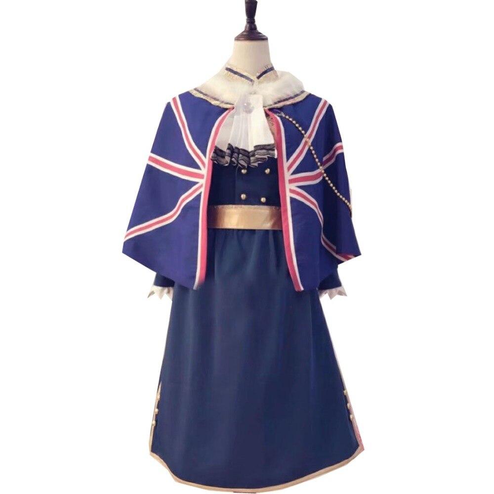 2018 Cosplay Costume Azur Lane Azur Lane Atago Uniform Halloween Christmas Party Any Size Multi-Styles