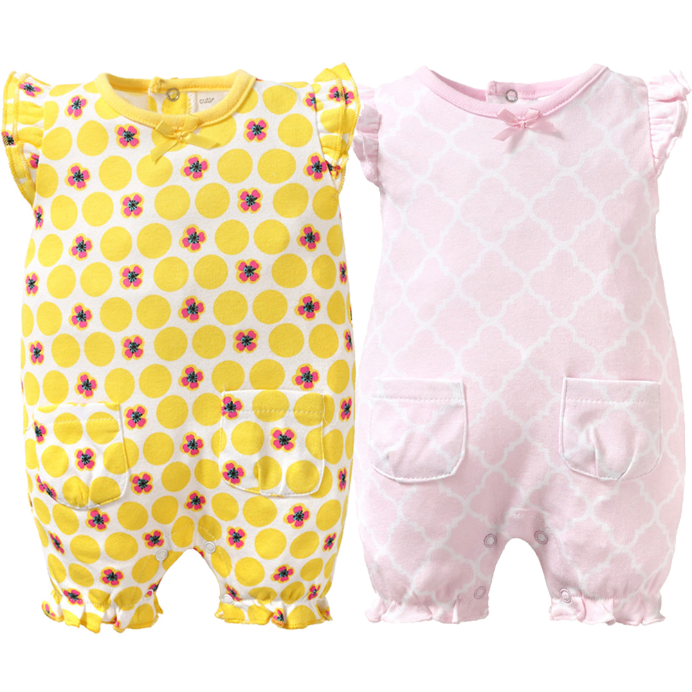 Baby Rompers Newborn Girl Babies 0-9 Months New Style Infantial Baby Clothes Summer Jumpsuit Printing Bebe Romper Costume newborn baby rompers baby clothing 100% cotton infant jumpsuit ropa bebe long sleeve girl boys rompers costumes baby romper