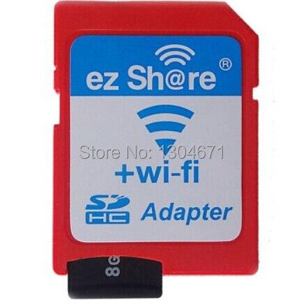 Envío libre ezshare ez compartir SD micro adaptador wifi inalámbrico 16G 32G tarjeta de memoria microSD TF Adaptador SD wifi envío paseo