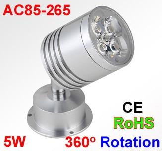 Dimmable Spot Led Light 1W 3W 5W 3000K 4000K 6000K 9000K 110V 220V Led Spot Light 360 Degree Rotation