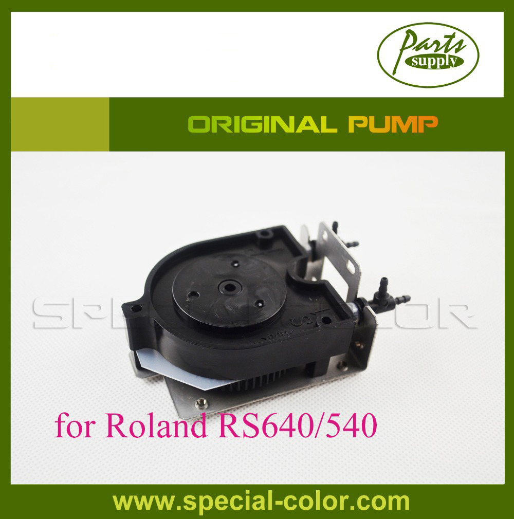 Original Roland RS640 Parts RS-540 printer U Type Eco Solvent Ink pump roland sj 640 xj 640 l bearing rail block ssr15xw2ge 2560ly 21895161 printer parts