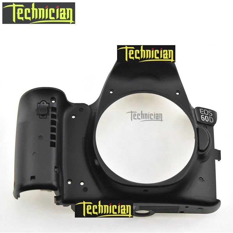 Pièces de rechange d'appareil-photo d'unité de coquille de couverture avant de 60D pour Canon