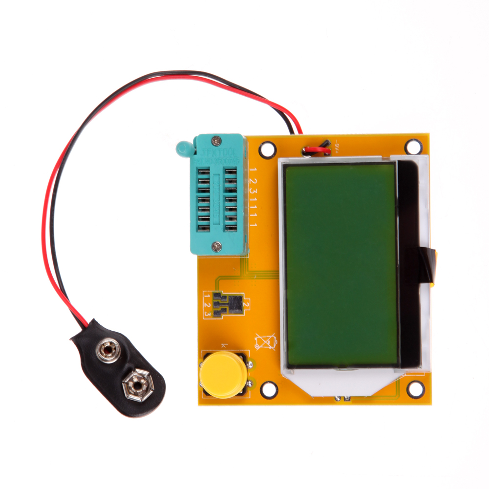 LCR-T4 ESR Meter Transistor Tester Diode Triode Capacitance SCR Meter MOS/PNP/NPN LCR Inductance LCD backlight TH4