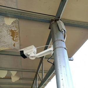 Image 2 - CCTV 브래킷 카메라 원통형 폴 후프 브래킷 직각 외부 벽 코너 브래킷 장착지지 스탠드 홀더 알루미늄
