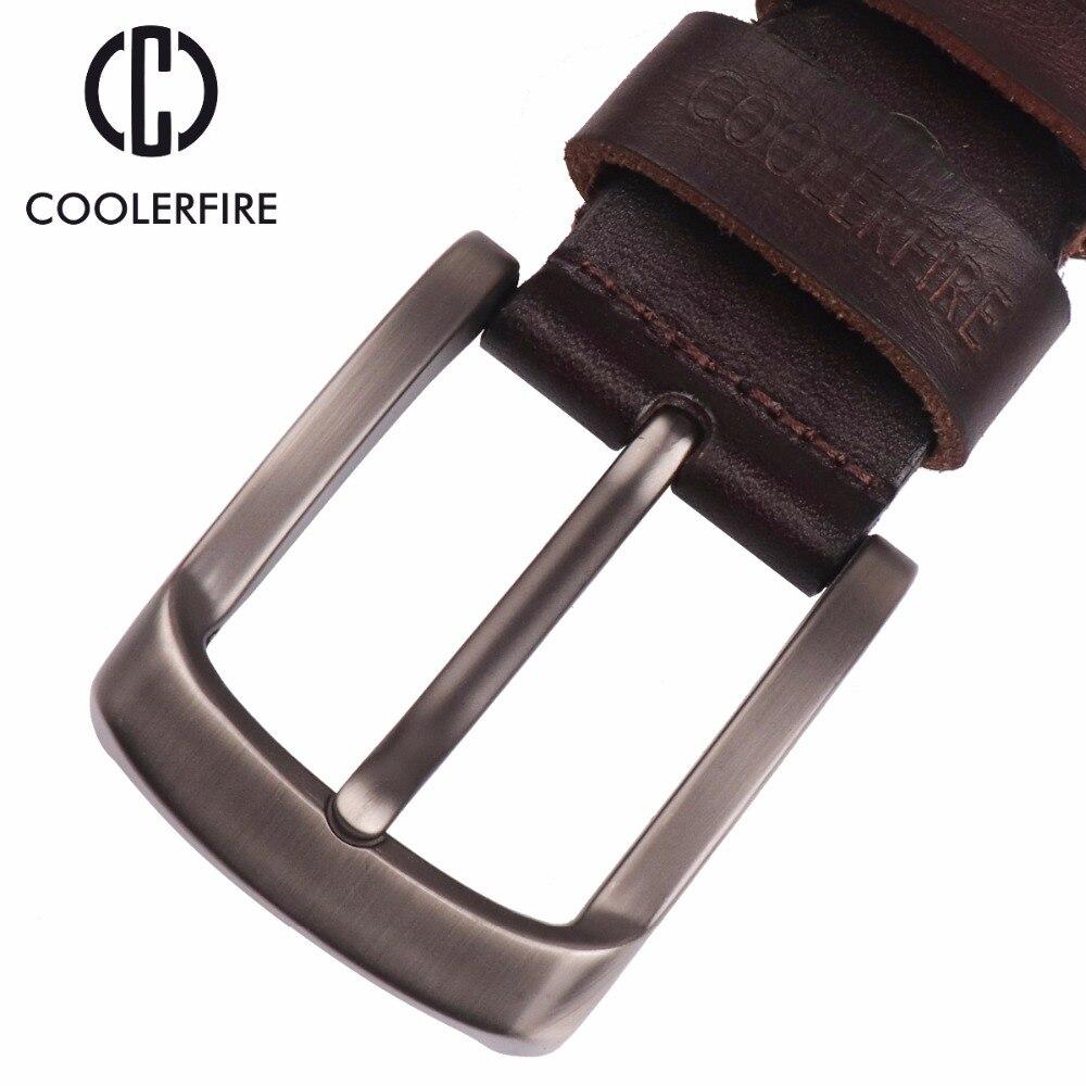 Image 3 - 2017 New men belt top full grain 100% real genuine cowskin leather soft jeans belt TM053jeans beltbelt topmen belt -