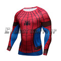 New T Shirt Spiderman Tee 3D Printed T-shirts super Men Marvel Avengers Fitness cosplay costume