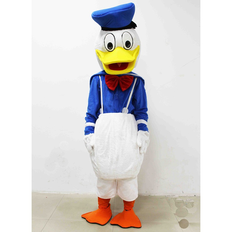 Blue Duck Mascot Plush Toys Men Duck Daisy Mascot Brinquedos EPE material Cartoon Imitation clothing cosplay