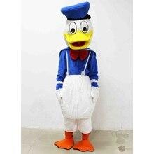 Blue Duck Mascot Plush Toys Men Duck Daisy Mascot   Brinquedos EPE material Cartoon Imitation clothing cosplay