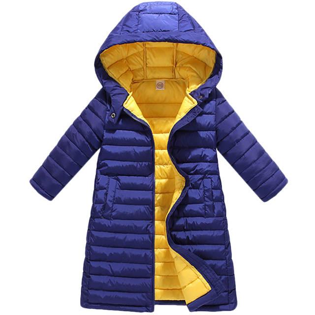 9a6024cdbe77 Online Shop Children Boys Girls Jackets Autumn Winter Down Coat Baby ...