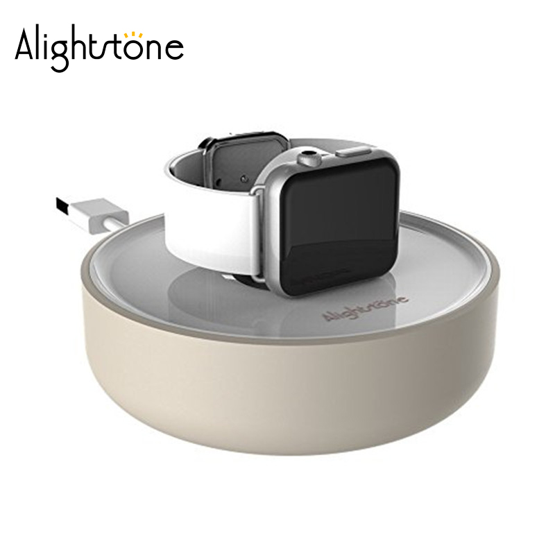 Alightstone Fashion Charger Stand For Apple Watch Smart Watch Charging Dock Cable Managment Chargers Holder