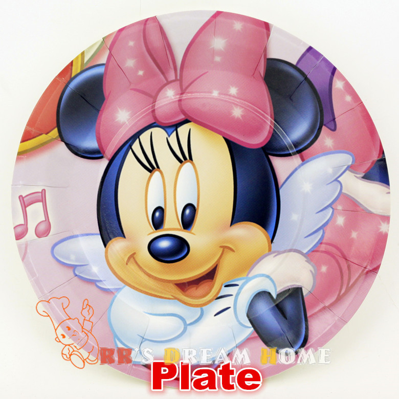 Popular minnie mouse kit buy cheap minnie mouse kit lots for Baby minnie mouse party decoration
