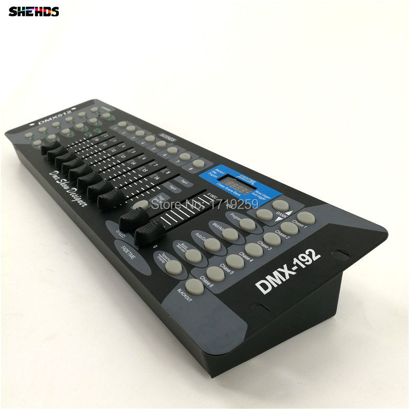 3pcs/lot NEW 192 DMX Controller Stage Lighting DJ equipment DMX Console for LED Par Moving Head Spotlights DJ Controller 2 pc lot new 192 dmx controller dmx 192 mini stone controller 192 dmx control for stage dmx console light moving head light