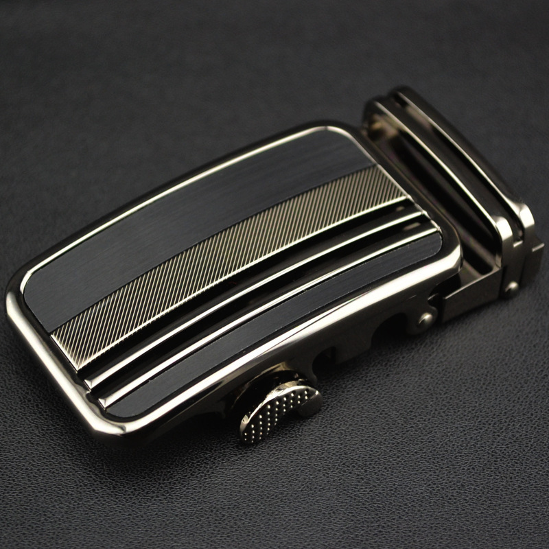 Men's Belt Head Belt Buckle Leisure Belt Head Business Accessories Automatic Buckle Width 3.5CM Belts Men High Quality LY1642-06
